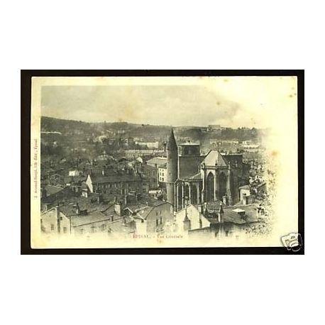 Carte postale 88 - Epinal - Vue generale