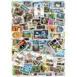 Sammlung gestempelter Briefmarken Granaten