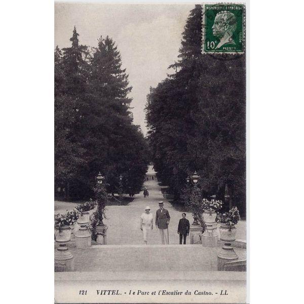 Escaliers Vosges: Le Parc Et Escalier Du Casino