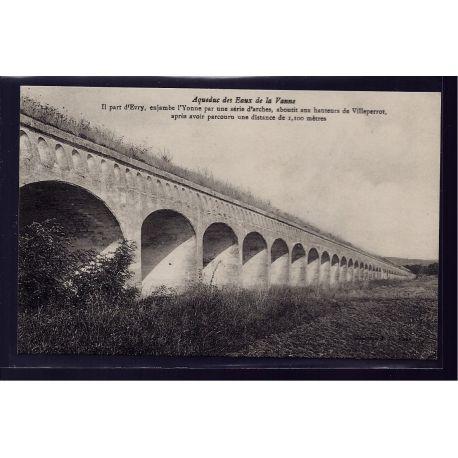 Carte postale 89 - Aqueduc des Eaux de la Vanne - Non voyage - Dos divise