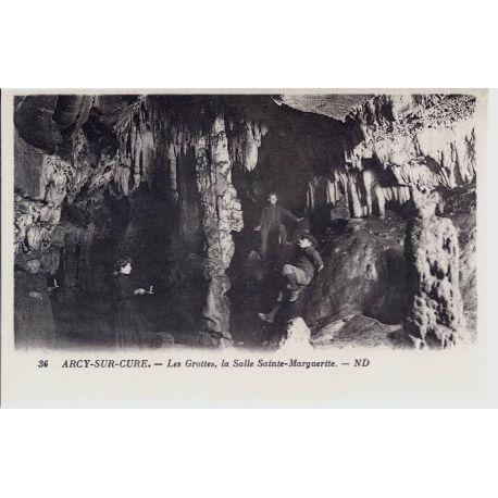 Carte postale 89 - Arcy/Cure - La salle Sainte-Marguerite