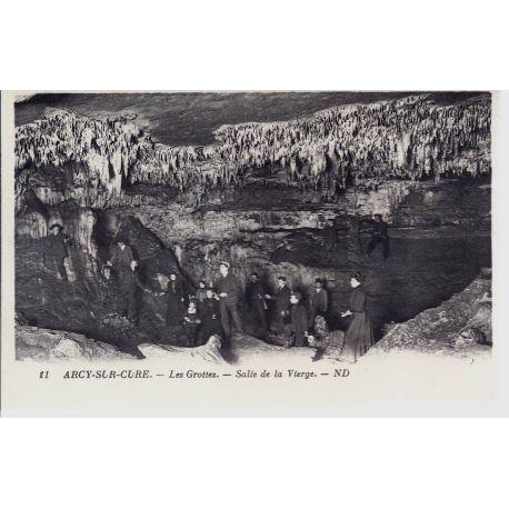Carte postale 89 - Arcy/Cure - Salle de la vierge