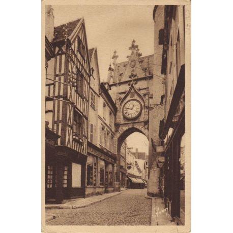 Carte postale 89 - Auxerre - Porte de l'Horloge
