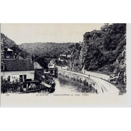 89 - Avallon - Cousin le Pont - Le Gour Vallon