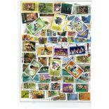 Sammlung gestempelter Briefmarken grenadisch