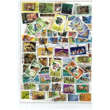 Collection de timbres Grenadines oblitérés