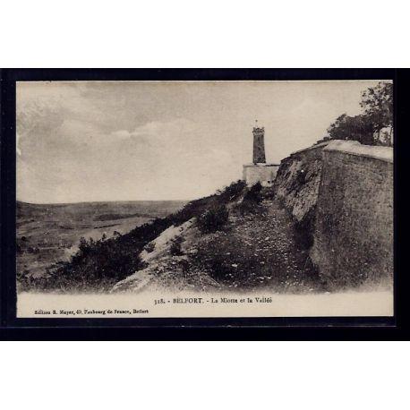 90 - Belfort - La Miotte et la Vallee - Non voyage - Dos divise