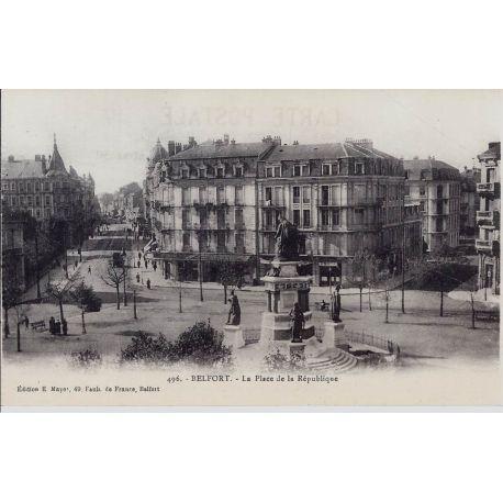 90 - Belfort - Place de la Republique