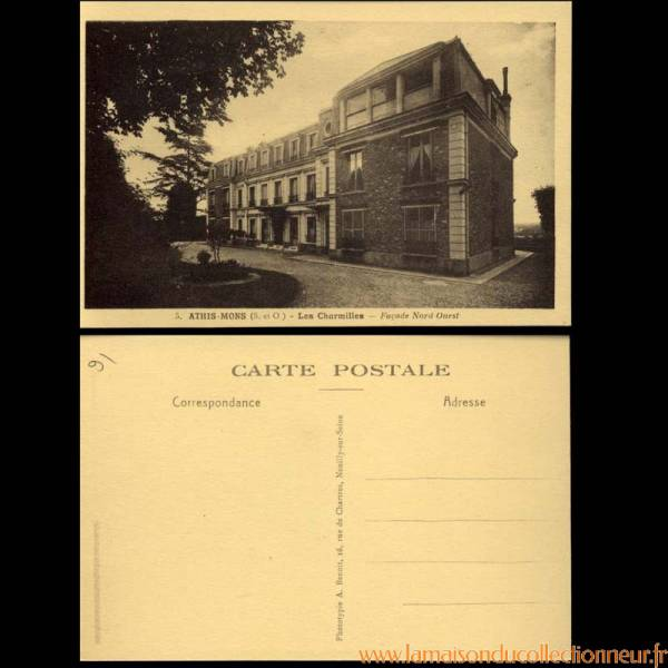 91 athis mons les charmilles facade nord ouest la maison du collectionneur. Black Bedroom Furniture Sets. Home Design Ideas