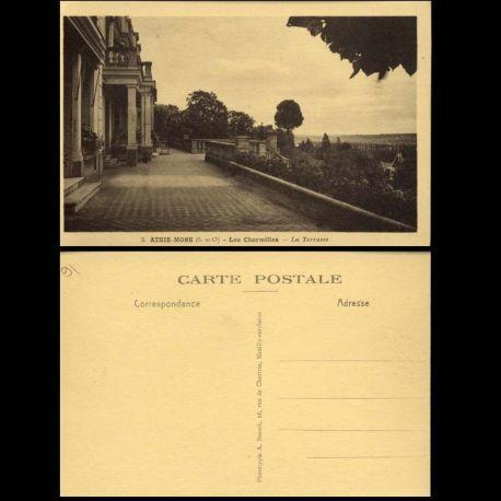 Carte postale 91 - Athis-Mons - Les Charmilles - La terrasse