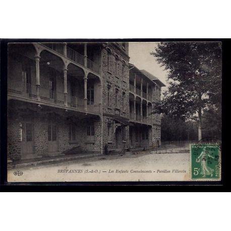 Carte postale 91 - Brevannes - les enfants convalescents - pavillon Villemin - Voyage - D
