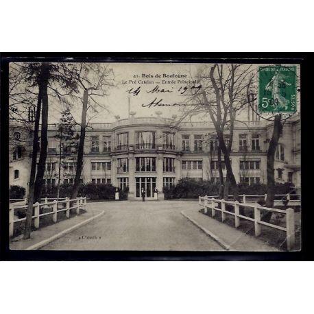 Carte postale 92 - Bois de Boulogne - Le pre Catelan - entree Principale - Voyage - Dos d