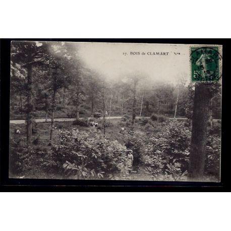 Carte postale 92 - Clamart - le bois - Voyage - Dos divise
