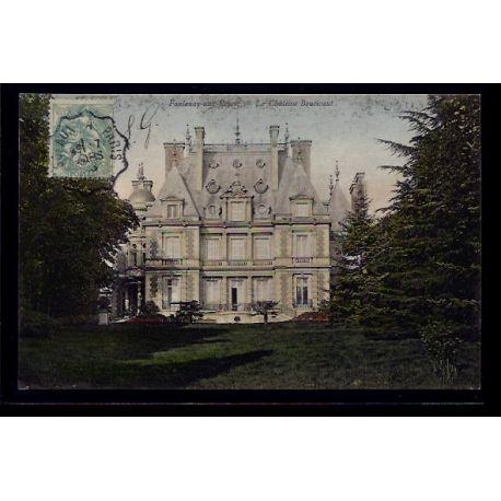 Carte postale 92 - Fontenay-aux-roses - le chateau Boucicaut - Voyage - Dos divise