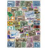 Sammlung gestempelter Briefmarken Guatemala