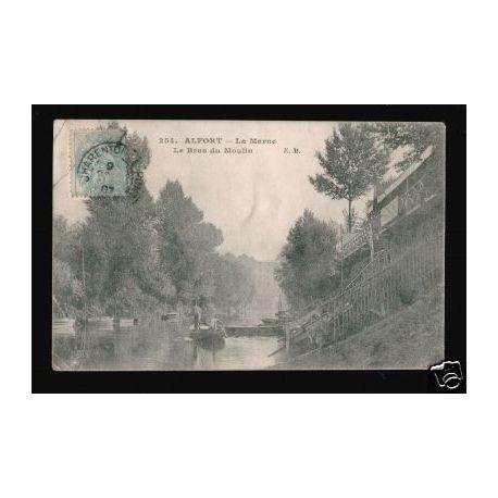 Carte postale 94 - ALFORT - LA MARNE - LE BRAS DU MOULIN