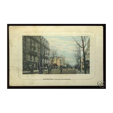 Carte postale 94 - Charenton - Rue de St-Mande