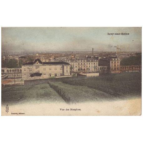 Carte postale 94 - Ivry sur Seine - Vue des Hospices