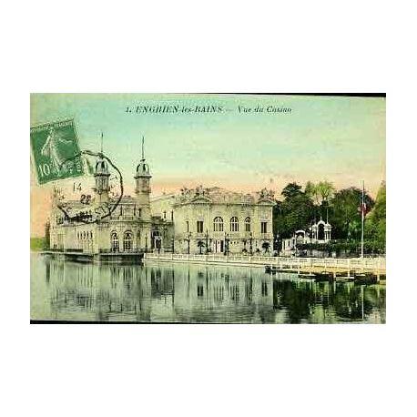 Carte postale 95 - ENGHIEN LES BAINS - VUE DU CASINO