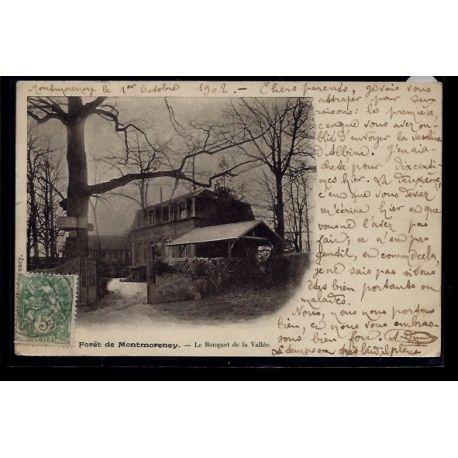 Carte postale 95 - Foret de Montmorency - le bouquet de la Vallee - Voyage - Dos non divi