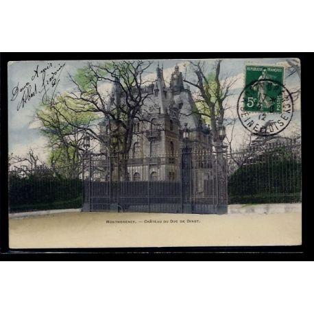 Carte postale 95 - Montmorency - chateau du Duc de Dinot - Voyage - Dos non divise