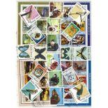 Sammlung gestempelter Briefmarken Guinea Bissau