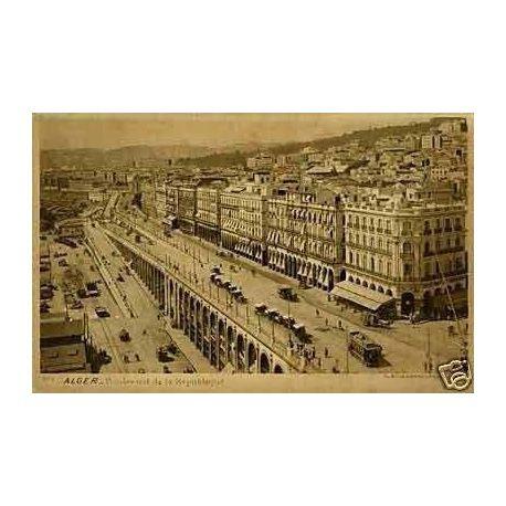 Algerie - Alger - Boulevard de la republique