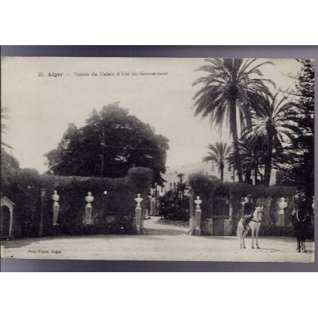 Algerie - Alger - Entree du Palais d'ete du Gouverneur