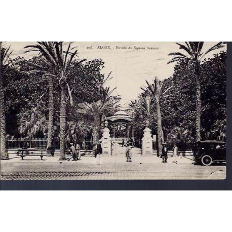Algerie - Alger - Entree du Square Bresson