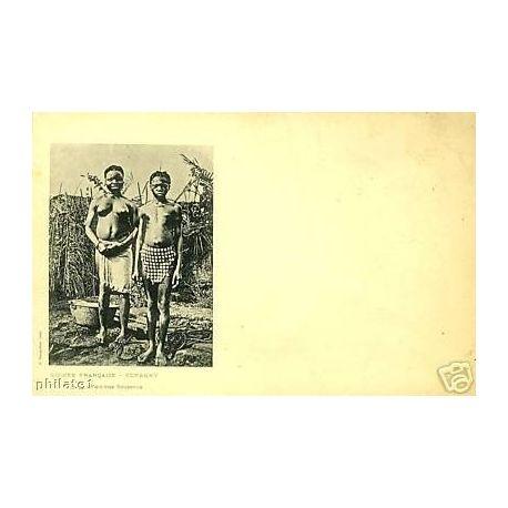 Guinee Conakry - Femmes Soussous - Seins nus