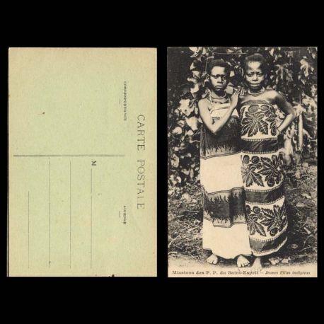 Cameroun - Jeunes filles indigenes - Mission des P.P. du Saint-Esprit