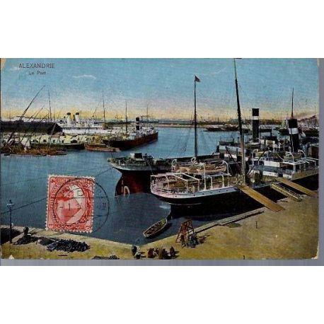 Egypte - Alexandrie - Le port