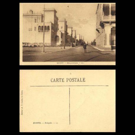 Egypte - Heliopolis - Une rue