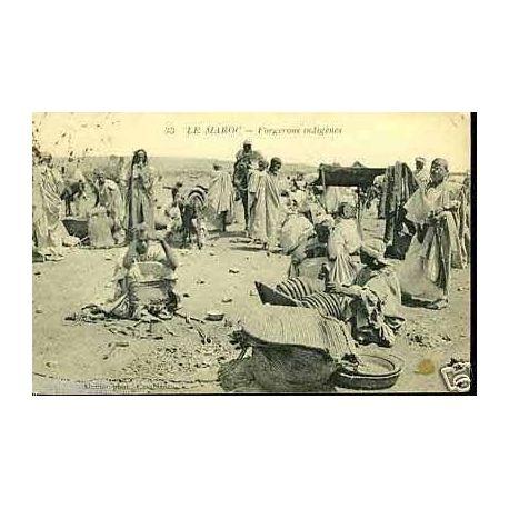 Maroc - Forgerons indigenes