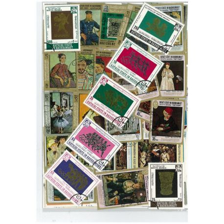 Hadramaout - 25 timbres différents