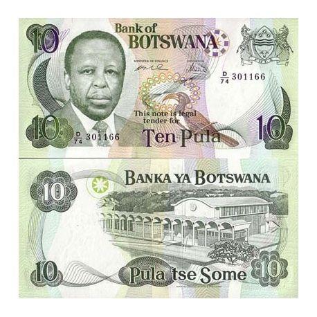 Botswana - Pk # 20 - 10 Pula ticket