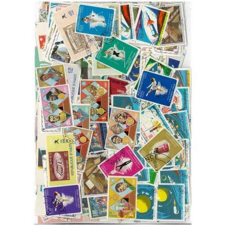Collection de timbres Haiti oblitérés
