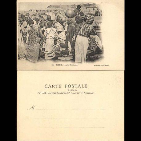 Senegal - Dakar - Femmes a la Fontaine - Edition Fortier