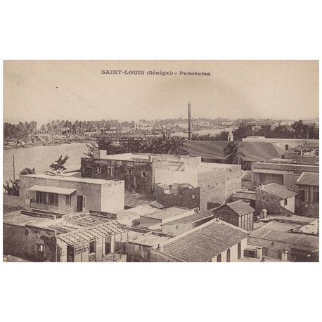 Senegal - St. Louis - Panorama