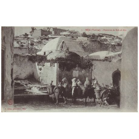 Tunisie - Beja - Fontaine de Bab-el-Ain