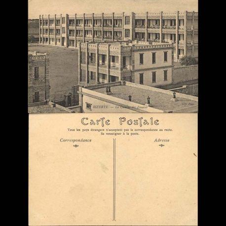 Tunisie - Bizerte - La caserne des Zouaves