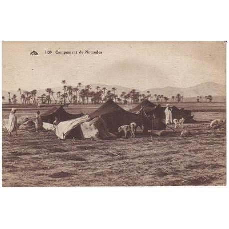 Tunisie - Campement de nomades