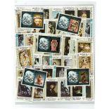 Sammlung gestempelter Briefmarken hohes Yaffa