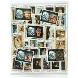 Used stamp collection High Yaffa