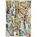 Sammlung gestempelter Briefmarken hohes Volta