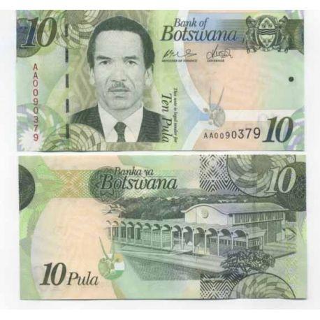 Botswana - Pk N° 30 - Billet de 10 Pula