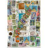 Sammlung gestempelter Briefmarken Honduras