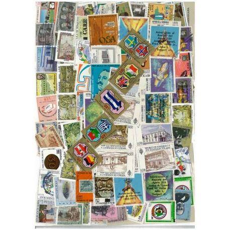 Honduras - 25 timbres différents