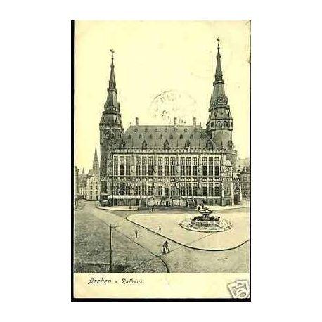 Allemagne - Aachen -Rathaus