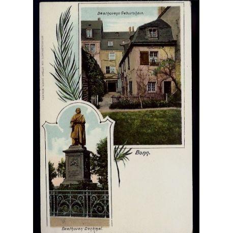 Allemagne - Bonn - Beethovens Geburtshaus und Denkmal